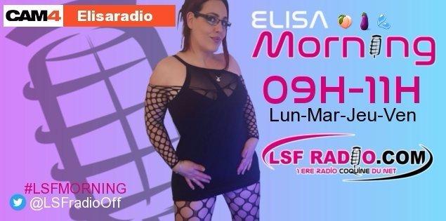 Lun-Mar-Jeu-Ven - 9h à 11h: Le Morning d'Elisa, un réveil coquin en webcam hot ! | Le Blog de Cam4 France - Sexe cam adulte