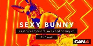 Fêtez Pâques avec les lapins sexy de CAM4! #SexyBunny 2021🐇